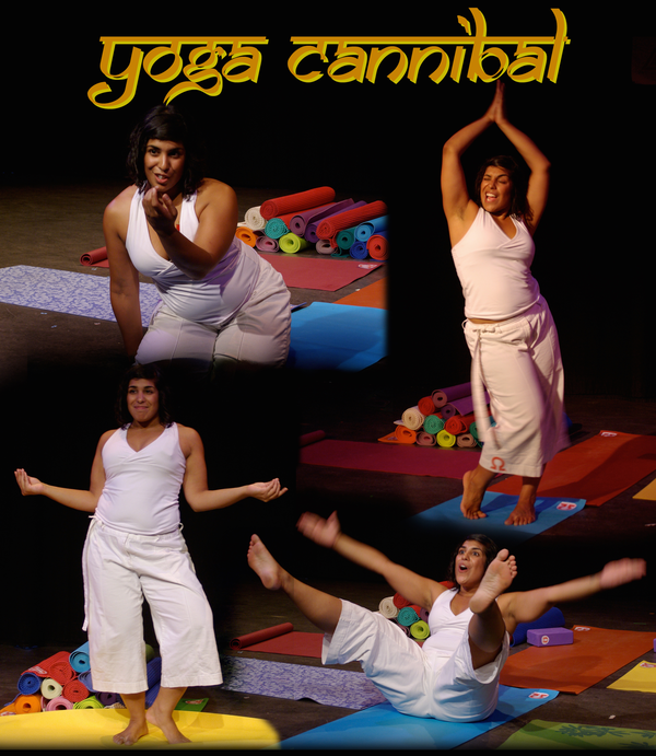 Poster of Yoga Cannibal, courtesy of the artist